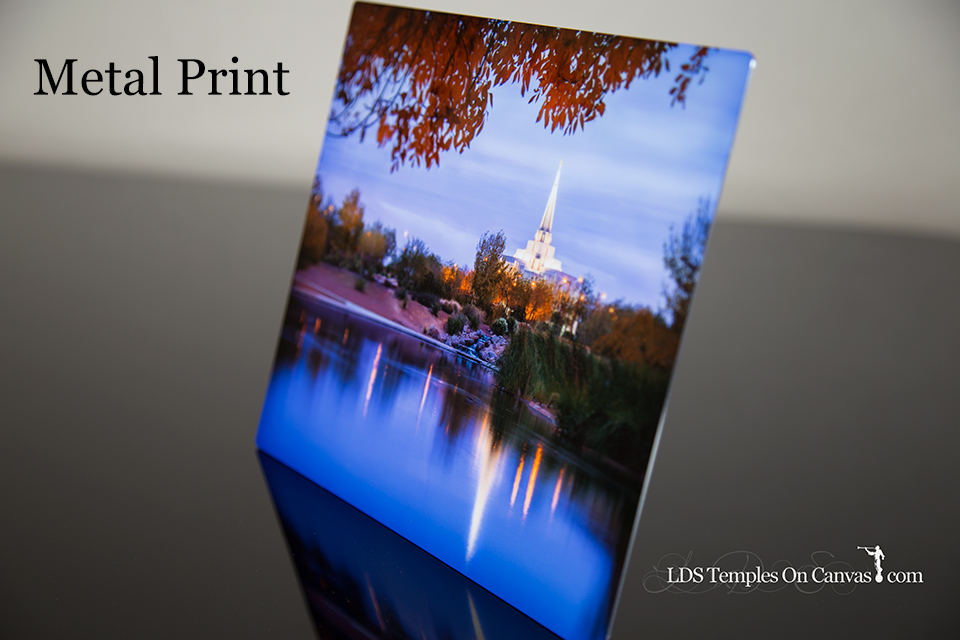 metal temple prints lds temples on canvas lds temple pictures